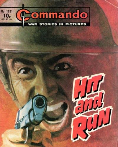 Cover for Commando (D.C. Thomson, 1961 series) #1281