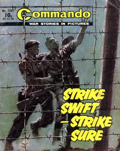 Cover for Commando (D.C. Thomson, 1961 series) #1287