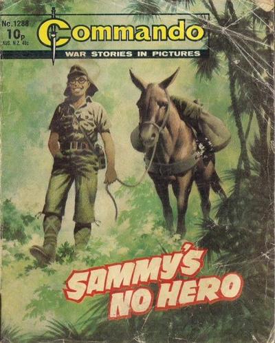 Cover for Commando (D.C. Thomson, 1961 series) #1288