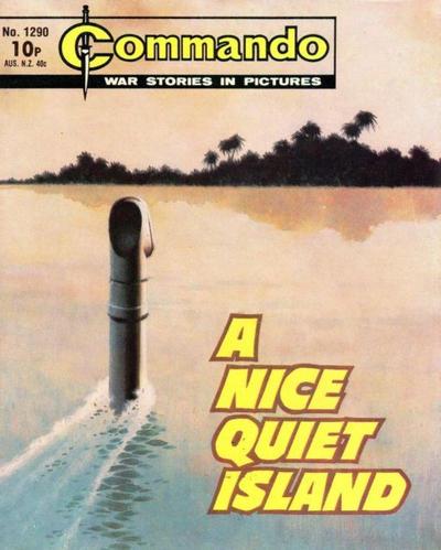 Cover for Commando (D.C. Thomson, 1961 series) #1290