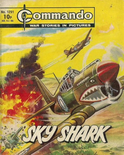 Cover for Commando (D.C. Thomson, 1961 series) #1291