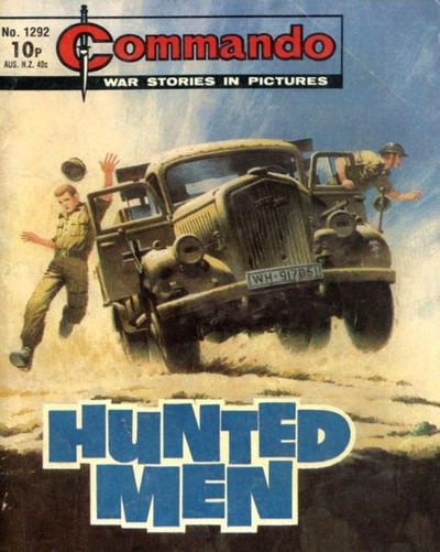 Cover for Commando (D.C. Thomson, 1961 series) #1292