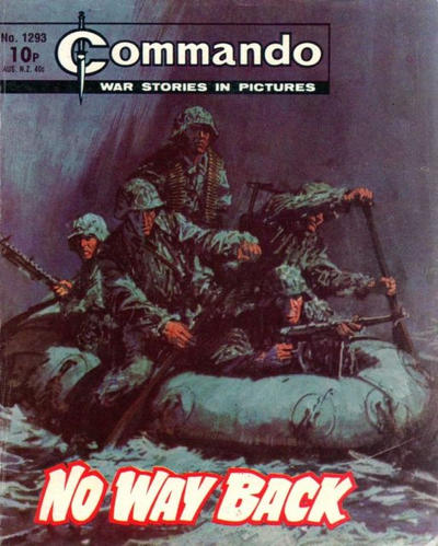 Cover for Commando (D.C. Thomson, 1961 series) #1293
