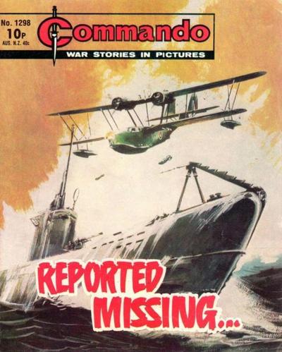 Cover for Commando (D.C. Thomson, 1961 series) #1298
