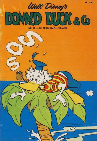 Cover for Donald Duck & Co (Hjemmet / Egmont, 1948 series) #18/1969