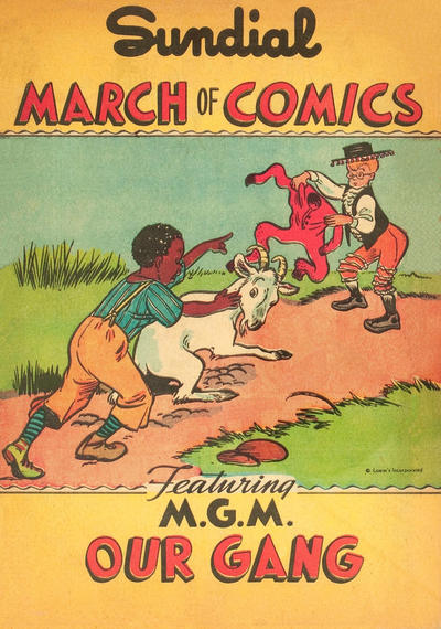 Cover for Boys' and Girls' March of Comics (Western, 1946 series) #[3]