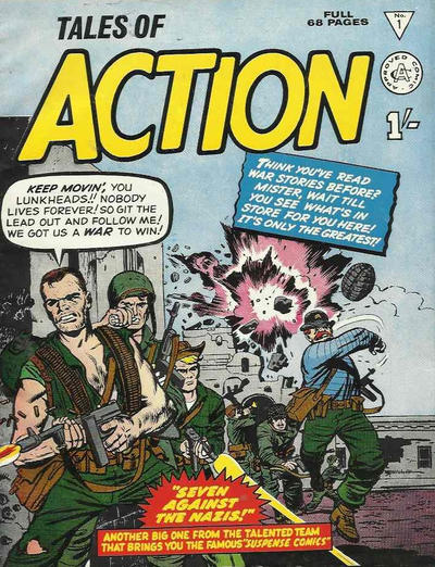 Cover for Tales of Action (Alan Class, 1965 series) #1