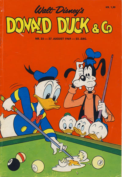 Cover for Donald Duck & Co (Hjemmet / Egmont, 1948 series) #35/1969