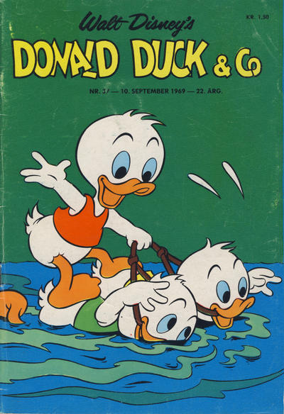 Cover for Donald Duck & Co (Hjemmet / Egmont, 1948 series) #37/1969
