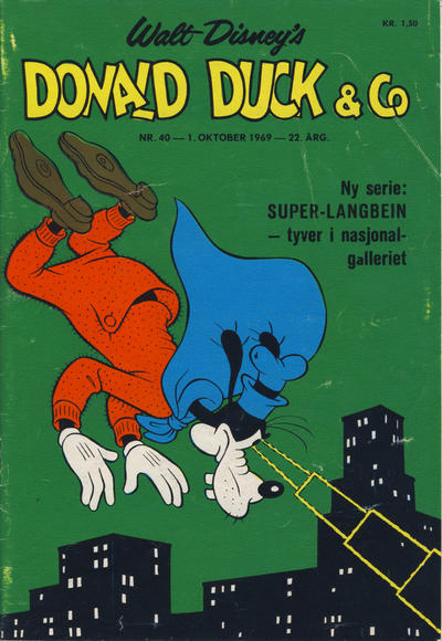 Cover for Donald Duck & Co (Hjemmet / Egmont, 1948 series) #40/1969