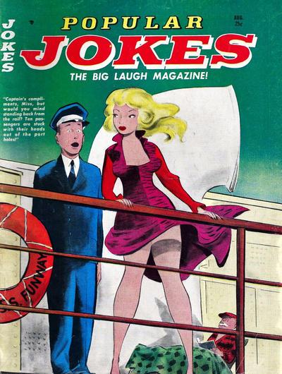Cover for Popular Jokes (Marvel, 1961 series) #5
