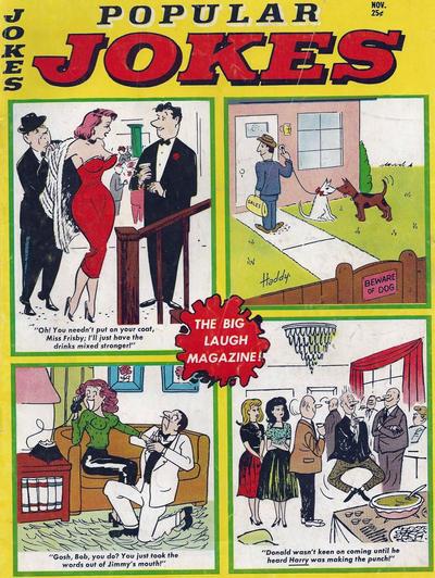 Cover for Popular Jokes (Marvel, 1961 series) #7