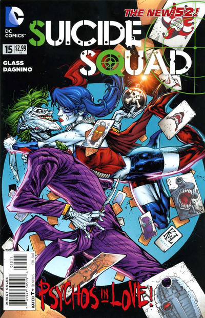 Cover for Suicide Squad (DC, 2011 series) #15