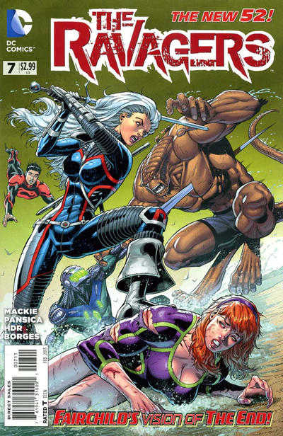 Cover for The Ravagers (DC, 2012 series) #7