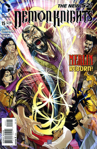 Cover for Demon Knights (DC, 2011 series) #15