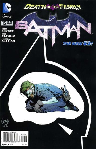 Cover for Batman (DC, 2011 series) #15 [Greg Capullo Black & White Cover]