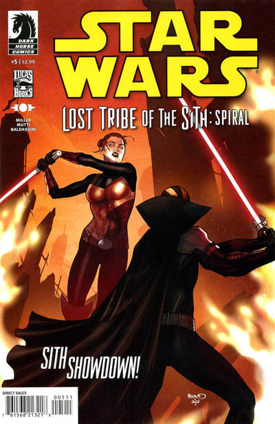 Cover for Star Wars: Lost Tribe of the Sith - Spiral (Dark Horse, 2012 series) #5