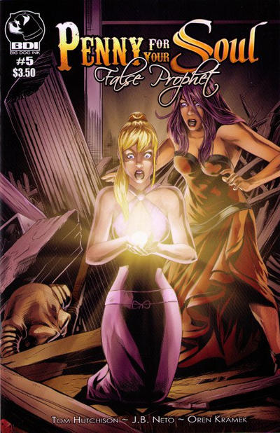Cover for Penny for Your Soul (Big Dog Ink, 2011 series) #5 [Cover C Phoenix Comicon]