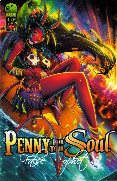 Cover for Penny for Your Soul (Big Dog Ink, 2011 series) #2 [Cover B by Rob Duenas]