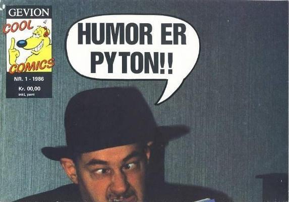 Cover for Humor er Pyton!! (Gevion, 1986 series) #1/1986