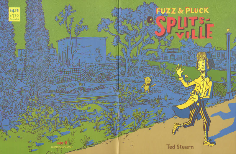 Cover for Fuzz & Pluck in Splitsville (Fantagraphics, 2001 series) #4