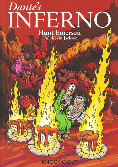 Cover for Dante's Inferno (Knockabout, 2012 series) #1