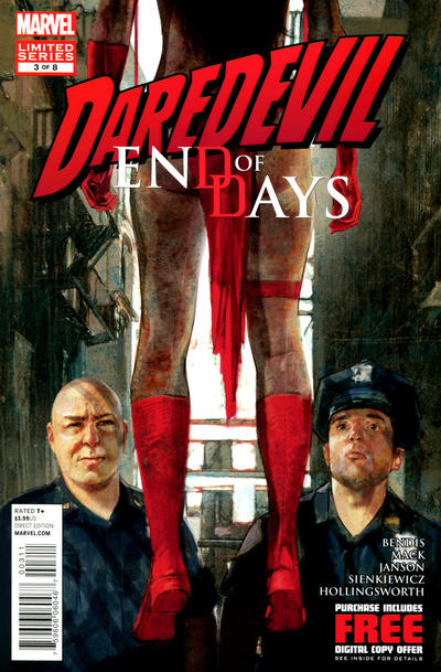 Cover for Daredevil: End of Days (Marvel, 2012 series) #3 [Variant Cover by David Mack - [Elektra by Murdock's Tomb]]