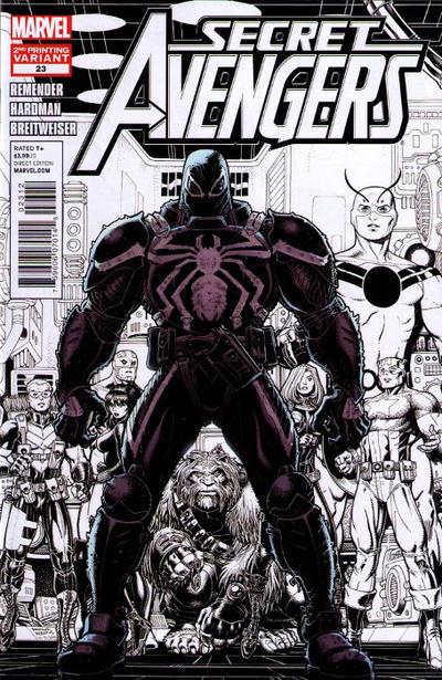 Cover for Secret Avengers (Marvel, 2010 series) #23