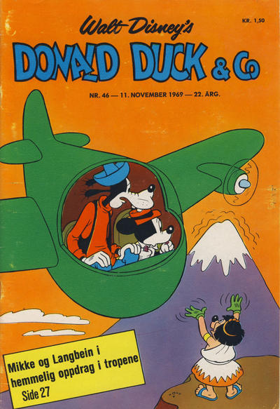 Cover for Donald Duck & Co (Hjemmet / Egmont, 1948 series) #46/1969