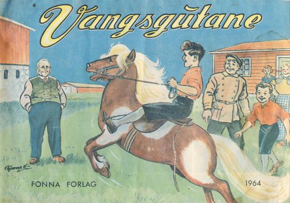Cover for Vangsgutane (Fonna Forlag, 1941 series) #1964