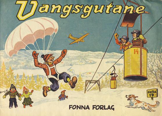 Cover for Vangsgutane (Fonna Forlag, 1941 series) #19