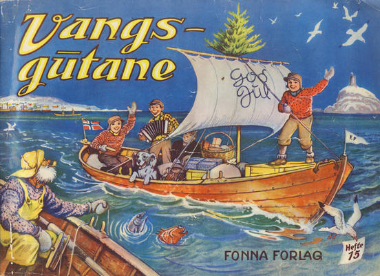 Cover for Vangsgutane (Fonna Forlag, 1941 series) #15
