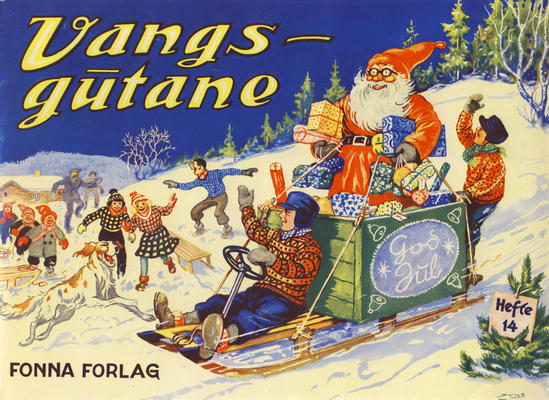 Cover for Vangsgutane (Fonna Forlag, 1941 series) #14
