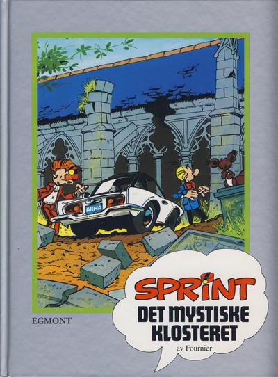 Cover for Sprint [Seriesamlerklubben] (Hjemmet / Egmont, 1998 series) #16 - Det mystiske klosteret