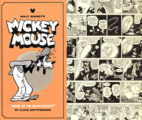 Cover for Walt Disney's Mickey Mouse (Fantagraphics, 2011 series) #4 - House of the Seven Haunts!