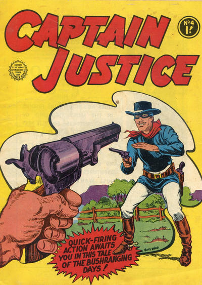 Cover for Captain Justice (Horwitz, 1963 series) #4
