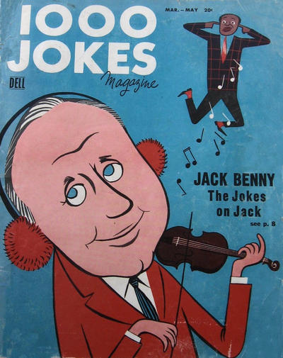 Cover for 1000 Jokes (Dell, 1939 series) #77