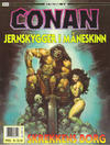 Cover for Conan album (Bladkompaniet / Schibsted, 1992 series) #14 - Jernskygger i måneskinn