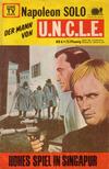 Cover for Napoleon Solo - Der Mann von U.N.C.L.E. (Semic, 1967 series) #6