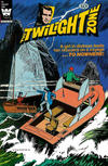 Cover for The Twilight Zone (Western, 1962 series) #92 [White Logo Variant]