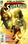 Cover for Supergirl (DC, 2011 series) #15