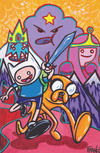 Cover for Adventure Time (Boom! Studios, 2012 series) #7 [Cover D by Franco]