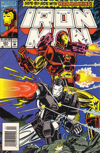Cover for Iron Man (Marvel, 1968 series) #291 [Direct Edition]