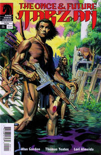 Cover Thumbnail for The Once and Future Tarzan (Dark Horse, 2012 series)