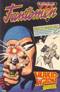 Cover Thumbnail for Fantomen (Semic, 1963 series) #21/1981