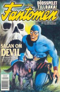 Cover Thumbnail for Fantomen (Egmont, 1997 series) #24/1999