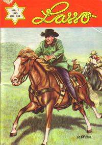 Cover Thumbnail for Lasso (Serieforlaget / Se-Bladene / Stabenfeldt, 1962 series) #1/1963