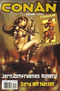 Cover Thumbnail for Conan (Bladkompaniet / Schibsted, 1990 series) #12/2004
