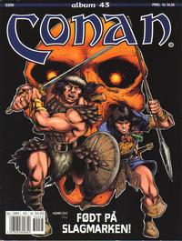 Cover Thumbnail for Conan album (Bladkompaniet, 1992 series) #43 - Født på slagmarken!