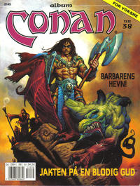Cover Thumbnail for Conan album (Bladkompaniet, 1992 series) #38 - Barbarens hevn!